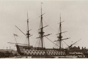 HMS Victory by English Photographer
