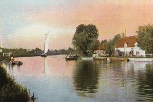Horning Ferry by English Photographer