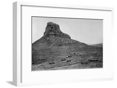 Isandhlwana across the Nek, from an Album of 43 Photographs Compiled by George Froom of the 94th…
