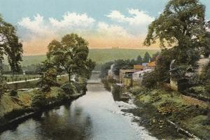 Matlock Bridge, on River Derwent by English Photographer