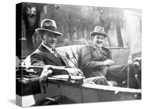 Michael Collins (1890-1922) with Emmet Dalton During the Treaty Discussions in London, 1921 by English Photographer