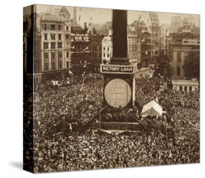 New Year's Eve, Trafalgar Square, 1919