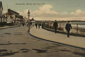 Promenade, Whitley Bay from South East by English Photographer