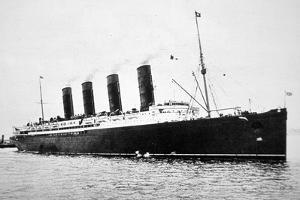 Rms Lusitania, 1907-15 by English Photographer