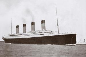 RMS Titanic of the White Star Line by English Photographer