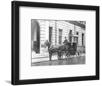 Single-Horsed Carriage (B/W Photo)
