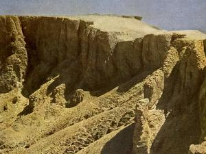 South slope of a royal burial ground, Egypt by English Photographer