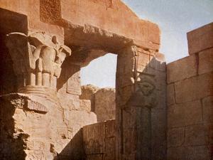 Temple at El Medina, Egypt by English Photographer