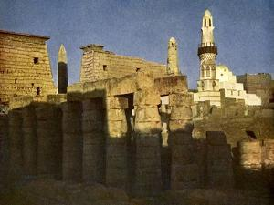 Temple of Luxor at eventide', Egypt by English Photographer