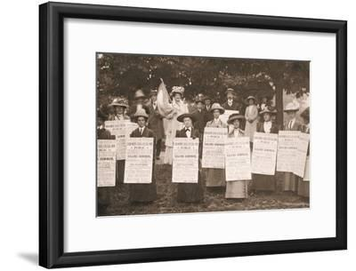 The Suffragettes of Ealing Publicise a Public Demonstration to Be Held on Ealing Common on 1st June