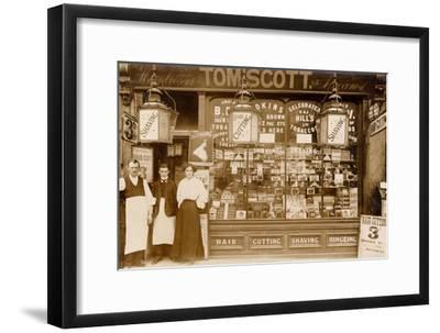 Tom Scott's Hairdresser and Tobacconist, Leytonstone, London