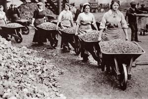 Women at Work During the Great War by English Photographer