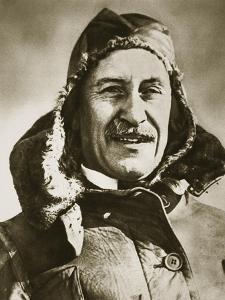 World's First Aeroplane Pilot by English Photographer