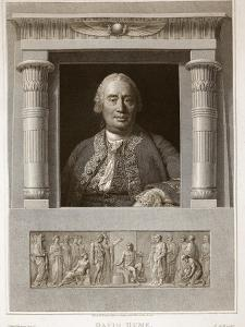 Portrait of David Hume by English
