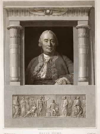 Portrait of David Hume