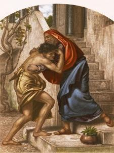 Return of the Prodigal Son by English