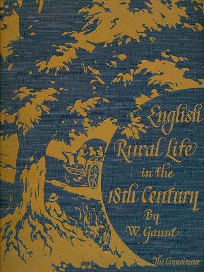 'English Rural Life in the 18th Century', front cover, 1925-Unknown-Giclee Print