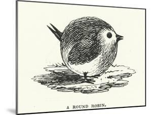 A round robin (engraving) by English School
