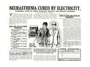 Advertisement for the Pulvermacher Electrological Institute Ltd., Published in 'The Sphere',… by English School