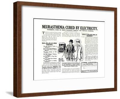 Advertisement for the Pulvermacher Electrological Institute Ltd., Published in 'The Sphere',…