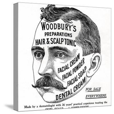 Advertisement for 'Woodbury's Preparations', 1910s