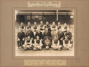 Aston Villa F.C., 1937-38, League Champions, Division 2 by English School