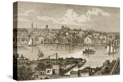 Baltimore, in C.1870, from 'American Pictures' Published by the Religious Tract Society, 1876