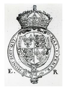 Coat of Arms of Queen Elizabeth I by English School