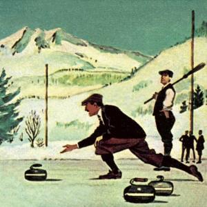 Curling by English School