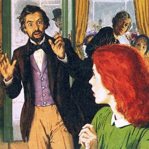 Dante Gabriel Rossetti and His Perfect Model, Elizabeth Siddal by English School