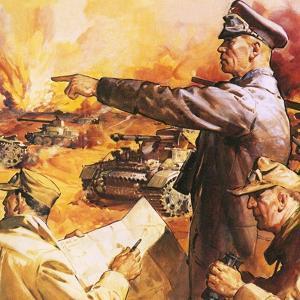 Field Marshal Rommel by English School