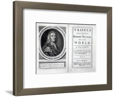 Frontispiece and Titlepage to 'Gulliver's Travels' by Jonathan Swift, 1726