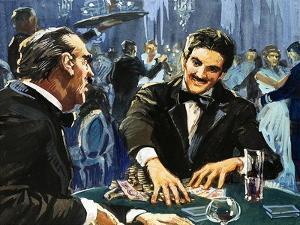 Gambling at Monte Carlo by English School