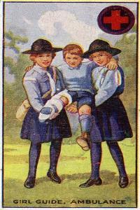 Girl Guide Ambulance Badge, 1923 by English School