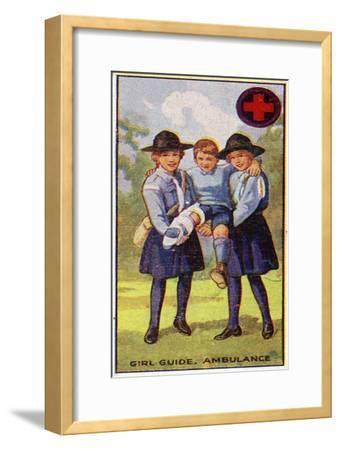 Girl Guide Ambulance Badge, 1923