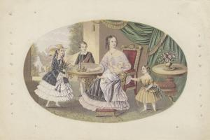 Her Majesty Queen Victoria and Family, c.1851 by English School