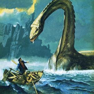 Loch Ness Monster by English School