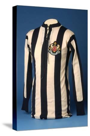 Newcastle United Jersey from the 1911 FA World Cup Final, 1911