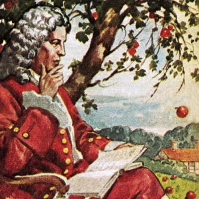 Newton Watching Apples Fall
