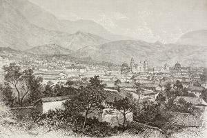 Overall View of Bogota, Colombia by English School