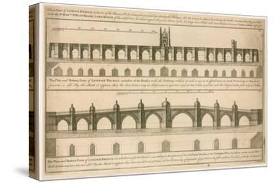 Plans for New London Bridge