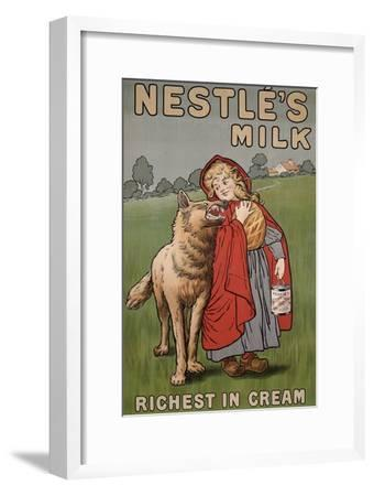 Poster Advertising Nestle's Milk, 1900