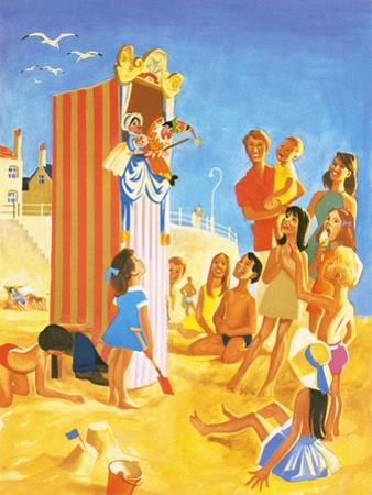 Punch and Judy Show on the Beach