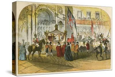 Queen Victoria's First Visit to the City (9 November 1837)