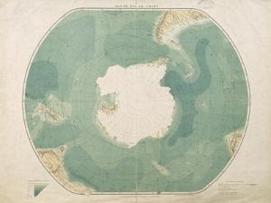 South Polar Chart, 1901 by English School