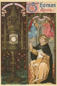 St Thomas Aquinas by English School