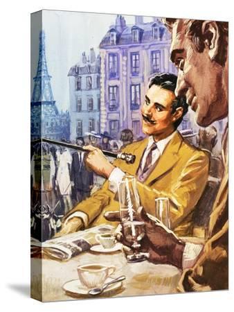 Taking Tea in Paris