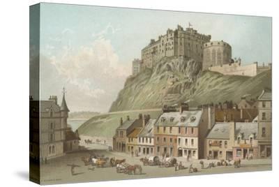 The Castle from the Grassmarket - Edinburgh