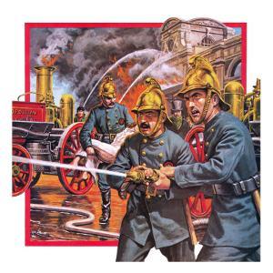 The London Metropolltan Fire Brigade by English School