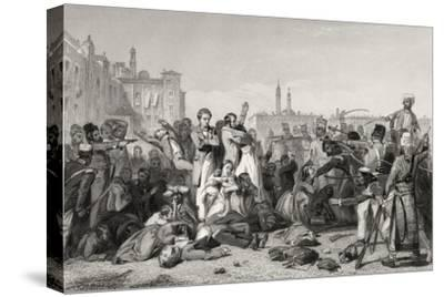 The Massacre at Cawnpore in 1857, from 'The History of the Indian Mutiny' Published in 1858